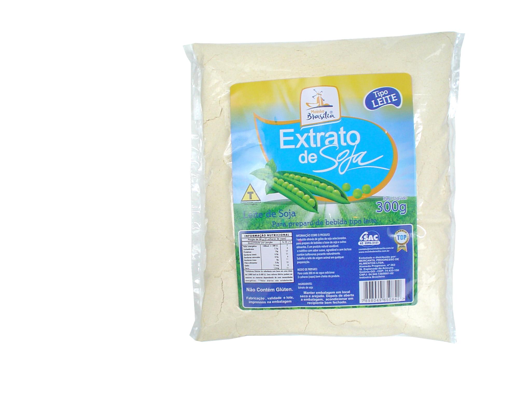 Cod.320-Extrato de soja tipo leite 300g
