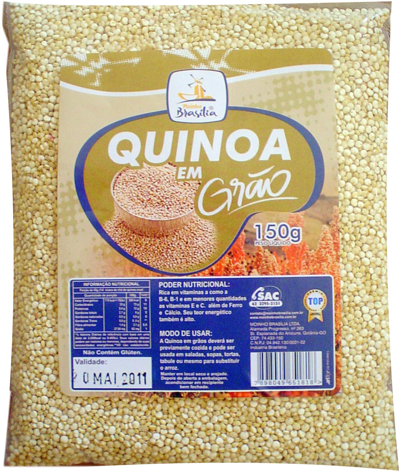 Cod.343-Quinoa em grãos 150g
