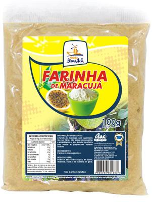 Cod.346-Farinha  de maracujá 100g