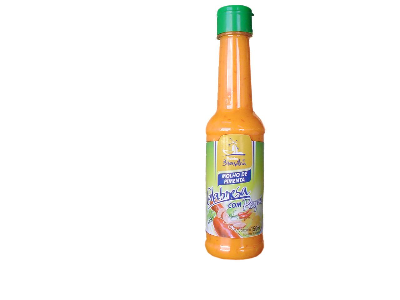 Cod.352-Molho pimenta Calabreza com pequi 150ml
