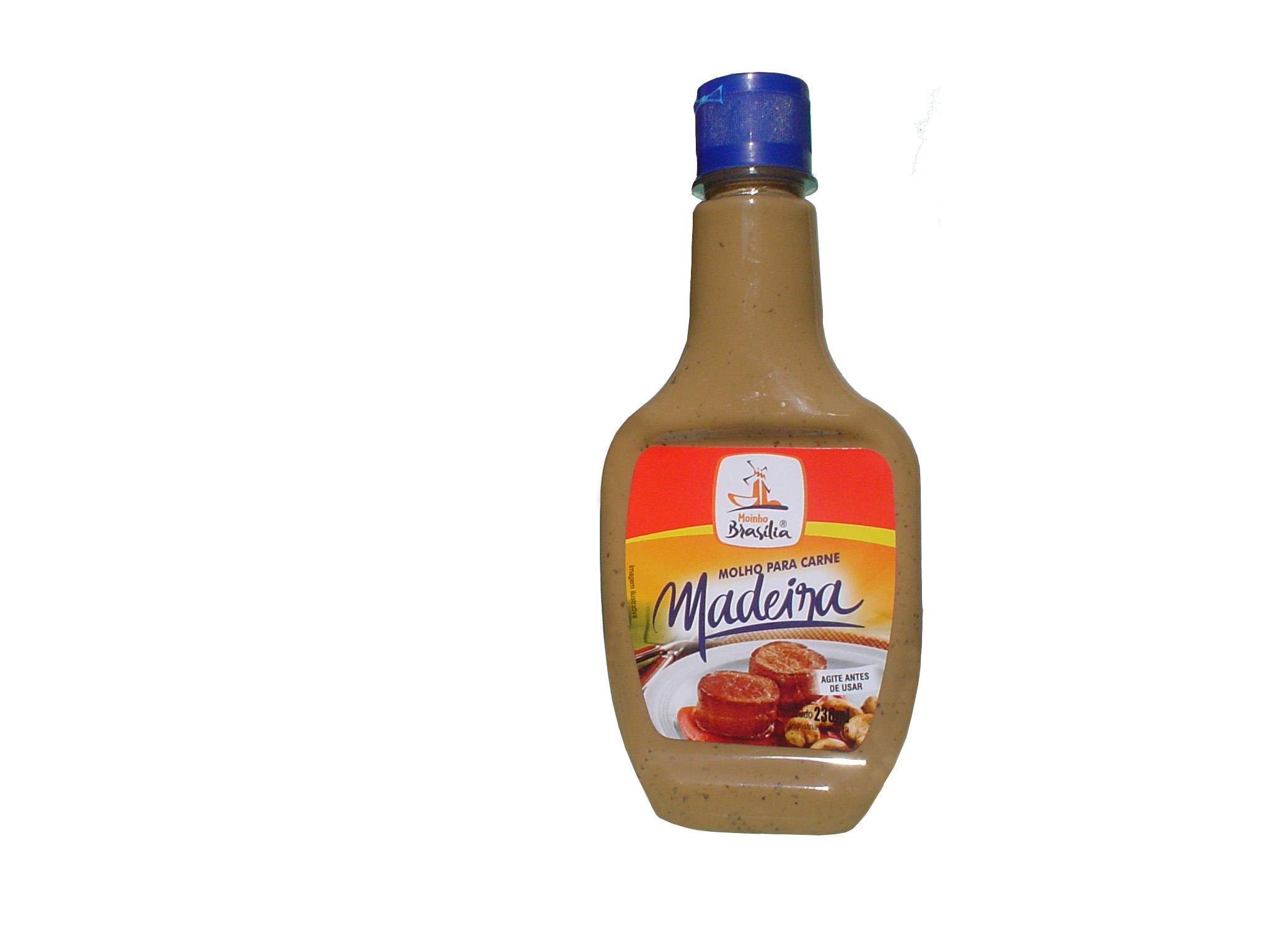 Cod.405-Molho para  carne sabor  madeira 236ml