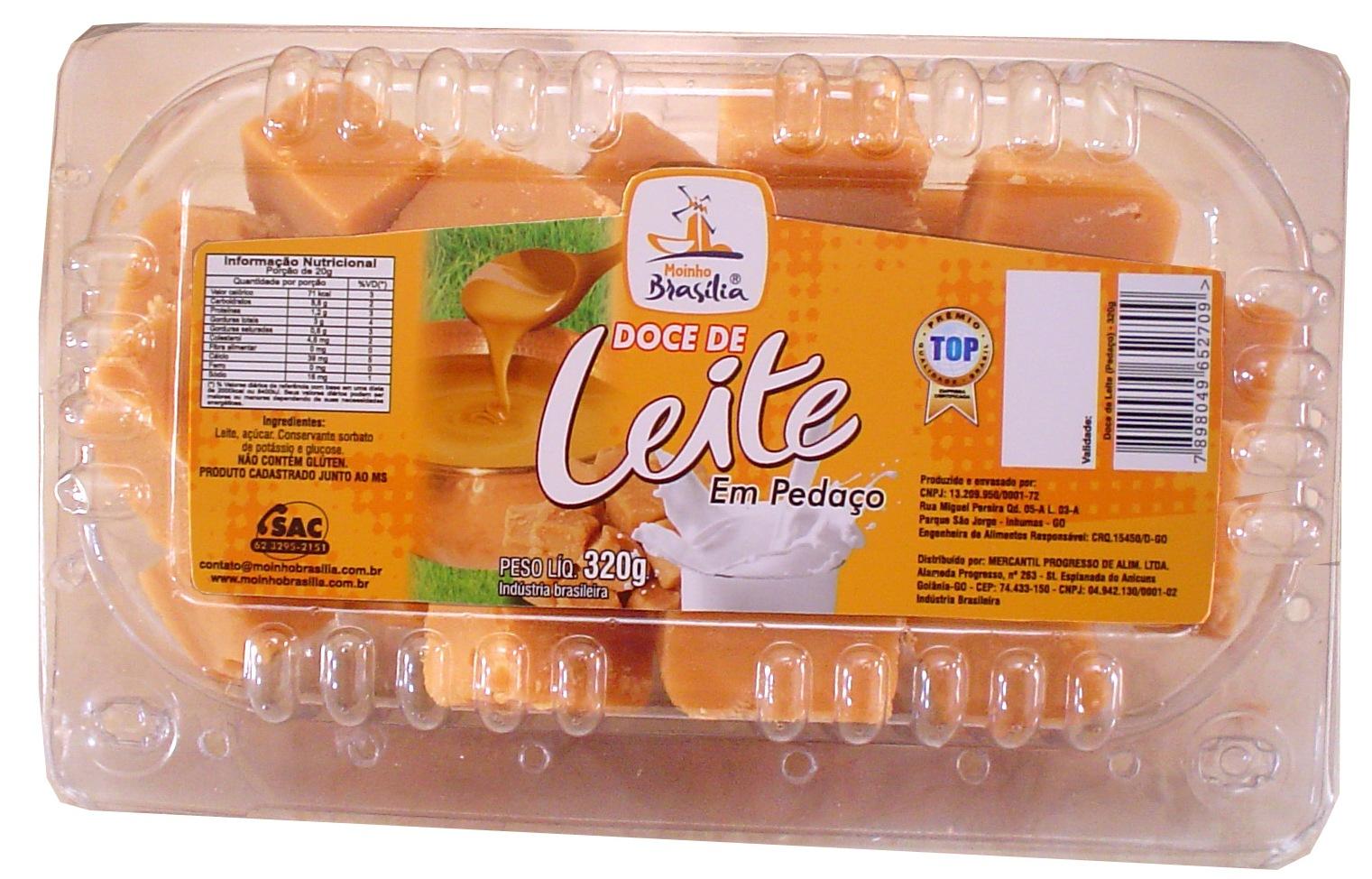 Cod.434-Doce de leite tradicional pedaço cartela 320g