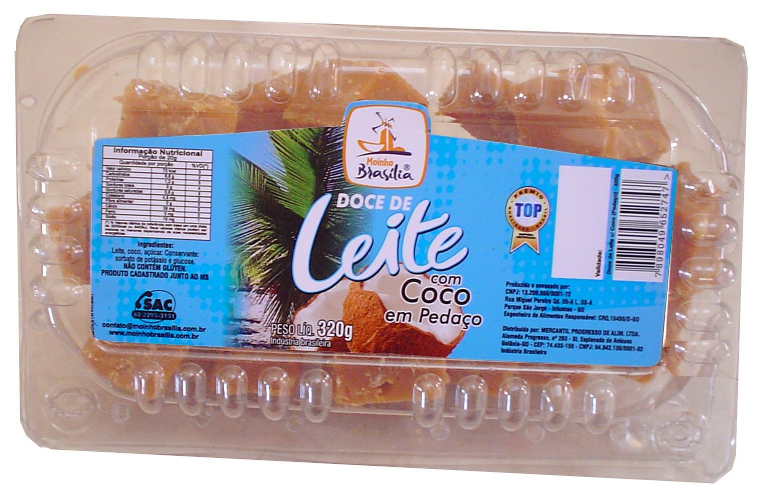 Cod.435-Doce de leite com coco cartela 320g