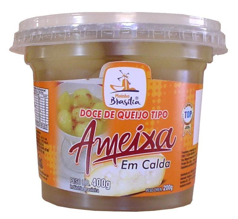 Cod.437-Doce de queijo ameixa calda pote 400g