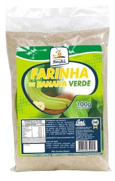 Cod.448-Farinha de banana verde 100g