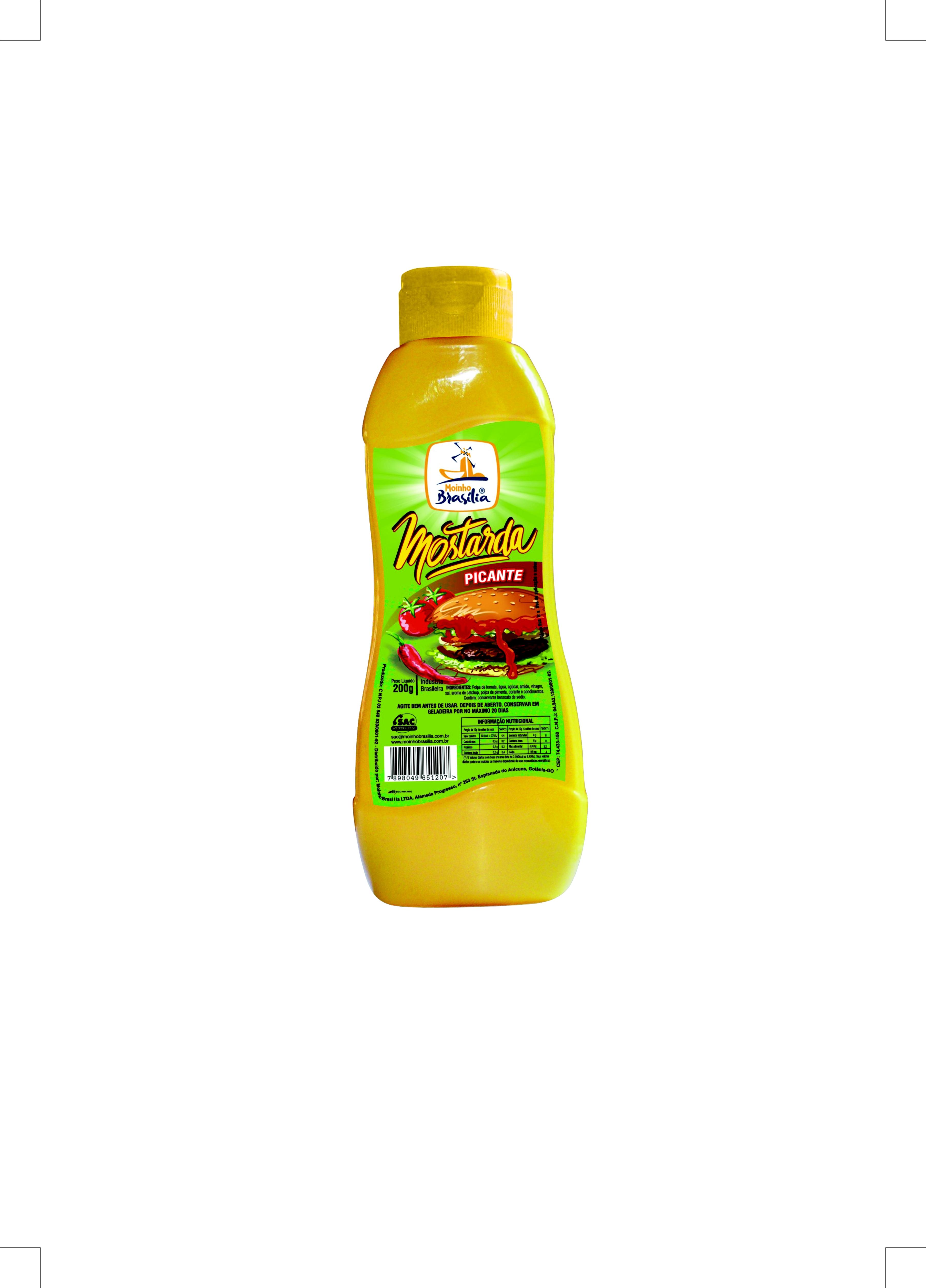 Cod.93-Mostarda picante 200g