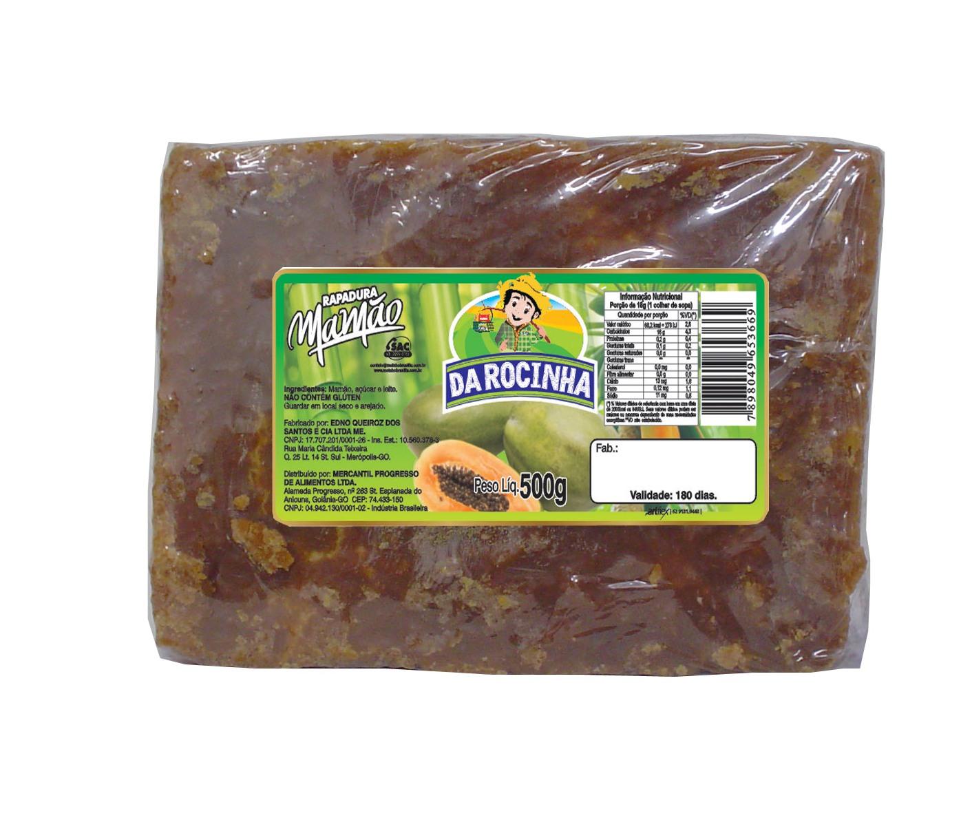 rapadura-mamao