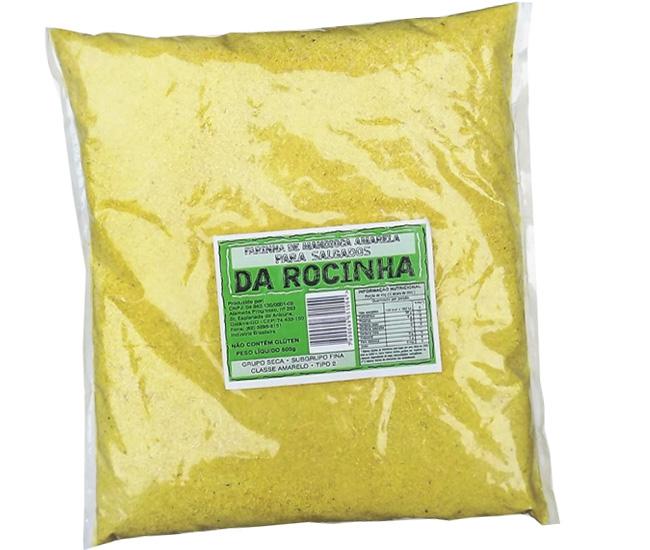 farinha amarela salgadosROCINHA