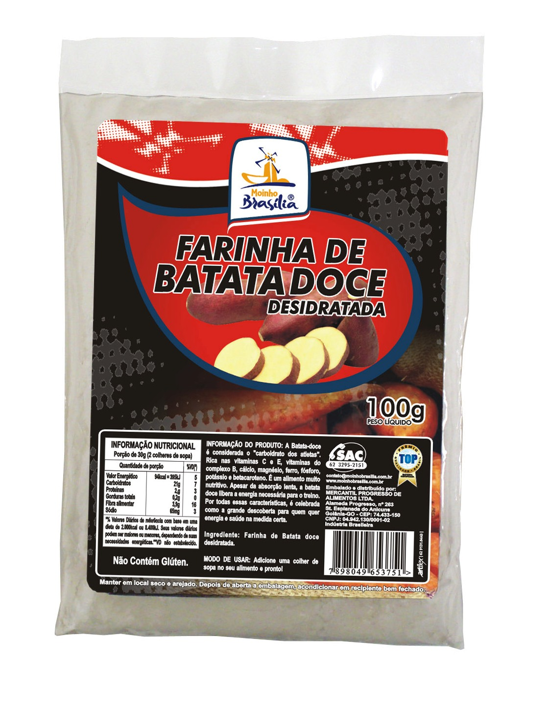 Farinha batataDoce