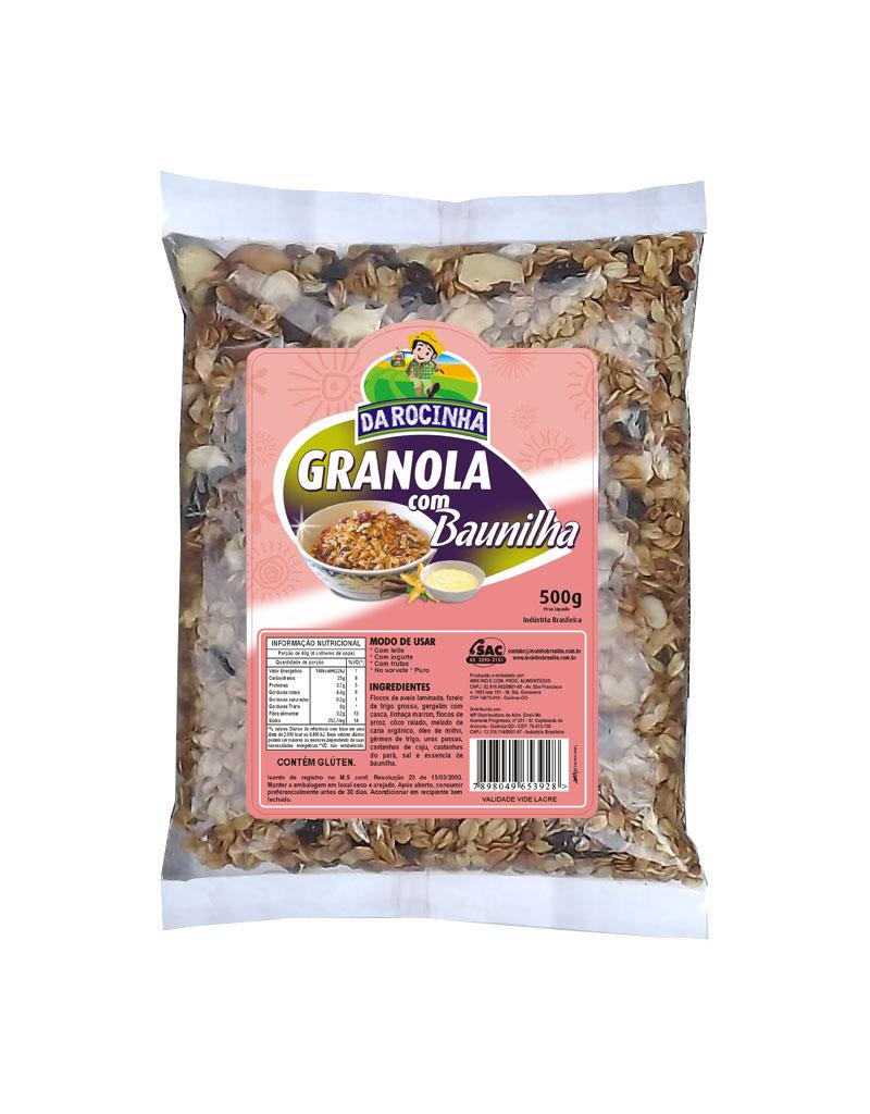 granola baunilha