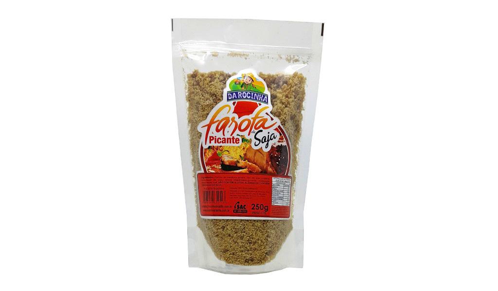 farofa de soja picante250g