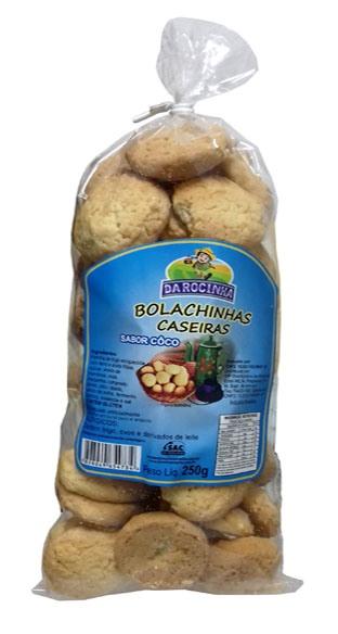 Bolachinha caseira coco