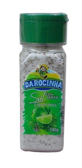Sal com limao ervas