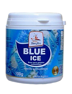Pó sorvete blue ice