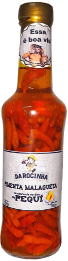 Pimenta malagueta no oleo de pequi 160g